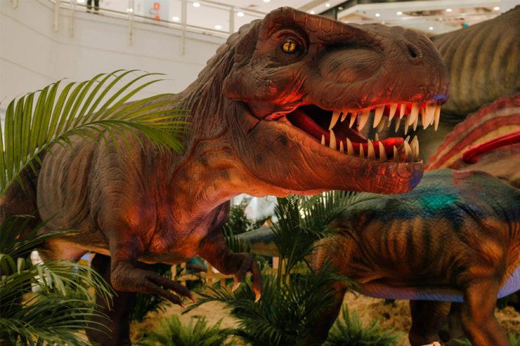 Réplica do Tiranossauro Rex