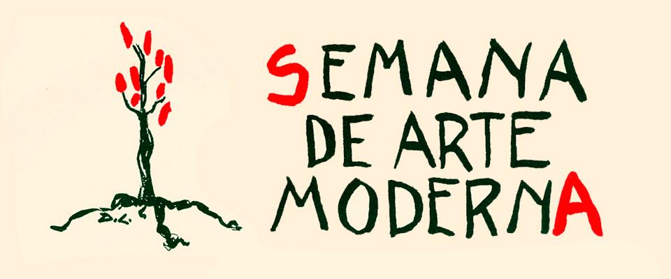Cartaz da Semana de Arte Moderna de 1922