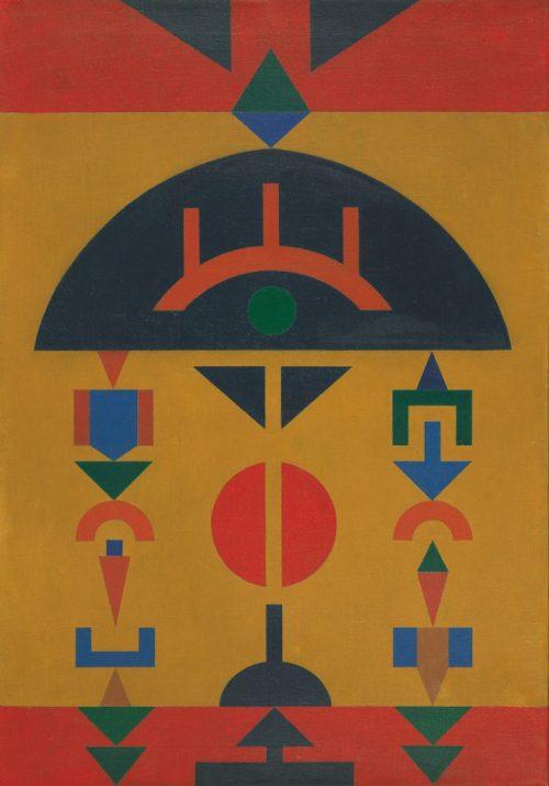 Rubem Valentim Composição 12, 1962
