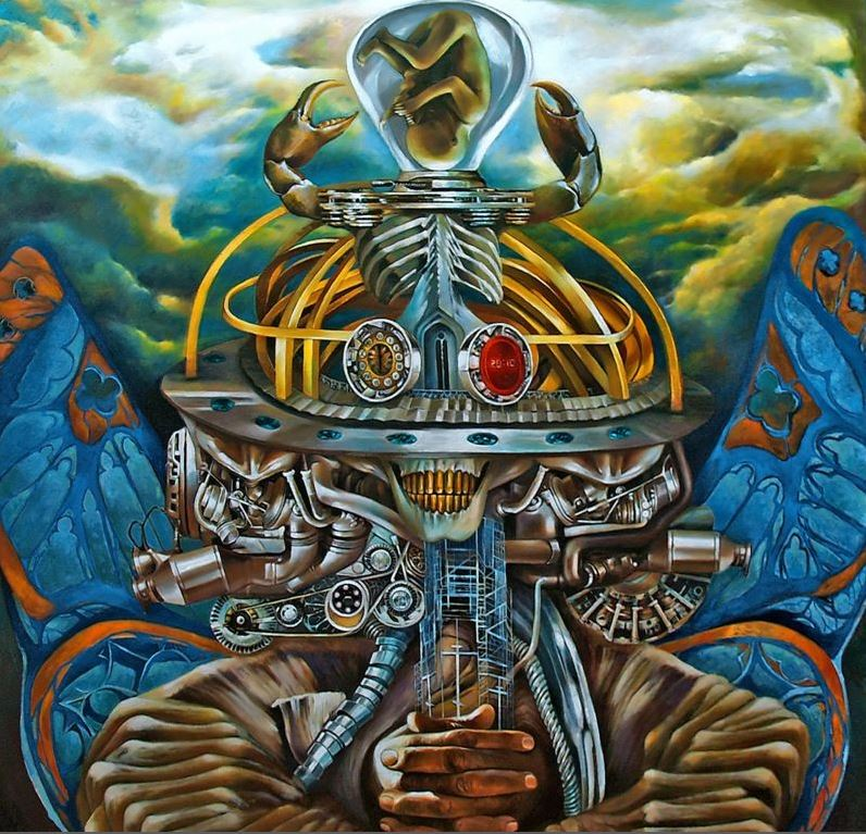 Capa do álbum Machine Messiah
