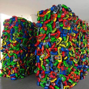 Entrada da exposição CAOS no MAC-SP - Foto Reinaldo Calazans