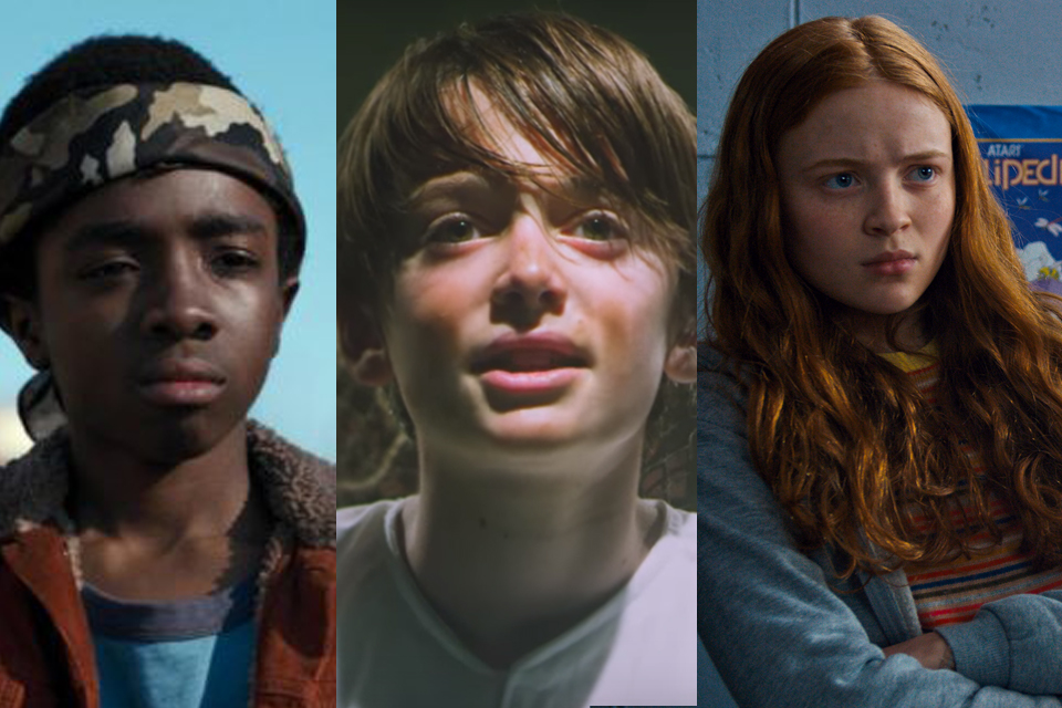 Personagens Stranger Things