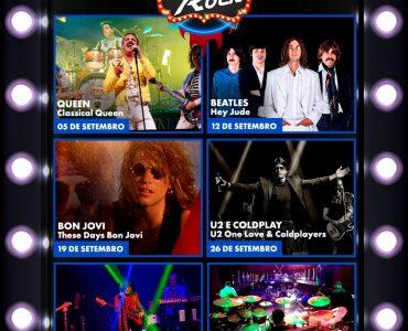 Grandes espetáculos de rock and roll agitam o Drive-In Das Américas