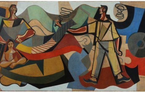 """Exposição """"Di Cavalcanti, Muralista"""" já está em cartaz no Instituto Tomie Ohtake"""