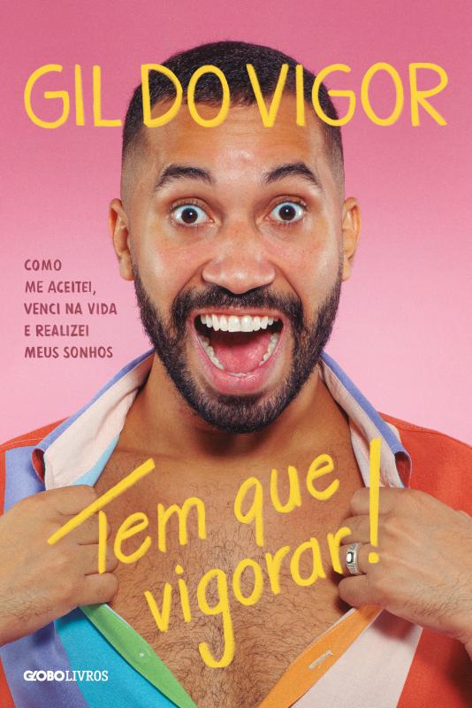 Capa do livro de Gil do Vigor é revelada